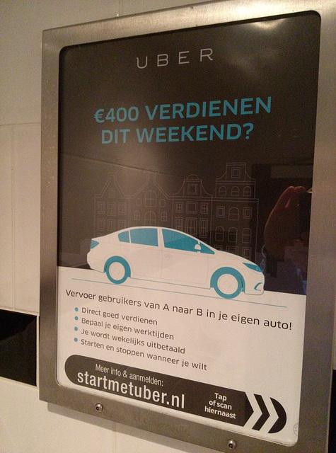 Advertisement for Uber