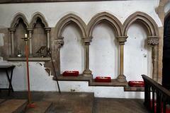 somersham church, hunts