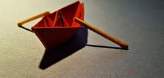 Allein auf dem Meer - das Rote Boot