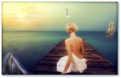 la mer c'est ce pays d'amour qu'on cherche toujours mais que l'on atteind jamais