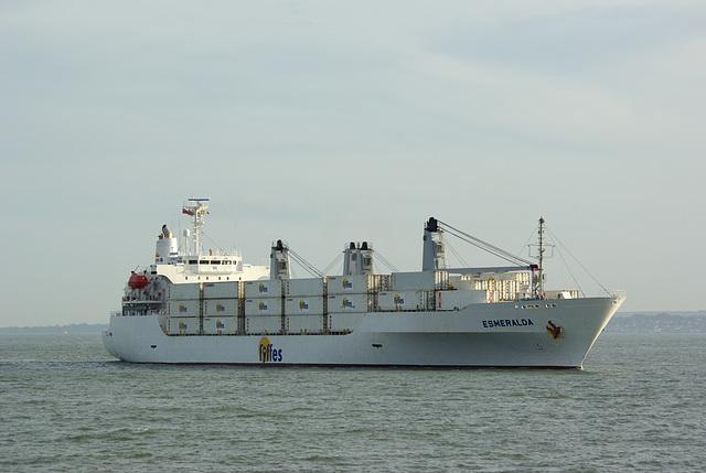Fyffes Banana Ship - Esmeralda