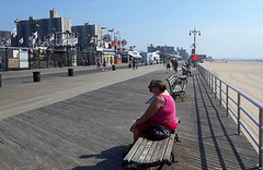 Die Bank auf Coney Island