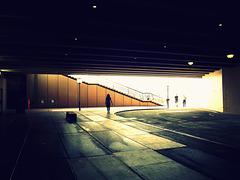 Under the opera house