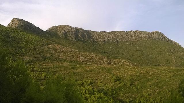 le mont du gouraya Bejaia