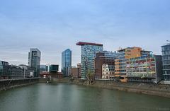 Medienhafen Düsseldorf (© Buelipix)