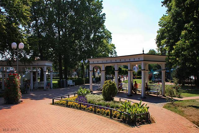 Boltenhagen, Tor zum Park