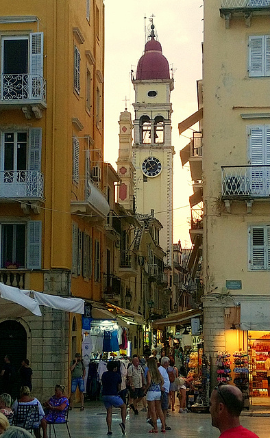 St Spiridion church, Corfu town