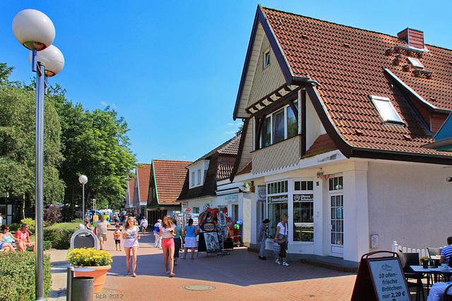 Boltenhagen, Promenade