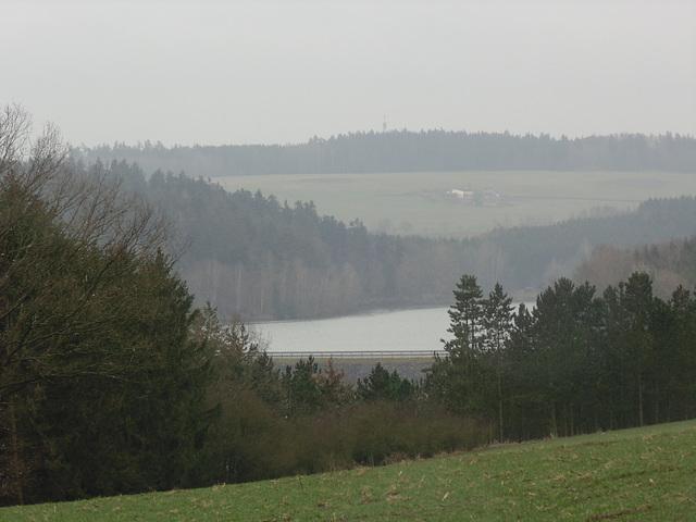 Wald- und Stauseeblick