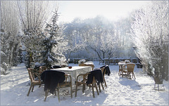 Waiting for Guests, also in Winter...