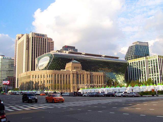 La urbodomo de Seulo