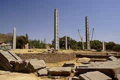 Main stelae field of Axum