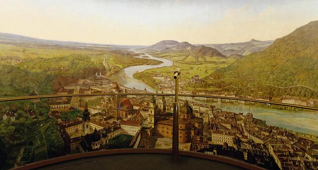 Panorama à 360° de Johann Michael Sattler (1829)