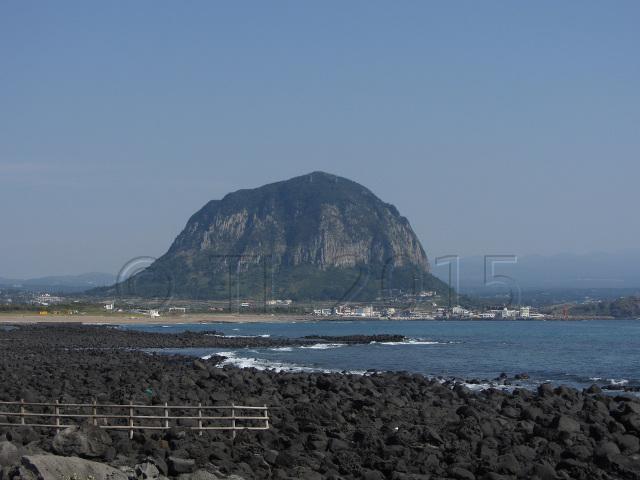 제주도산방산 Jeju Island, Mt. Sanbang