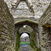 Beaumaris castle entrance