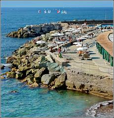 Il lido di Genova - zona di levante -