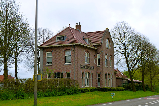 Former station at Aarlanderveen