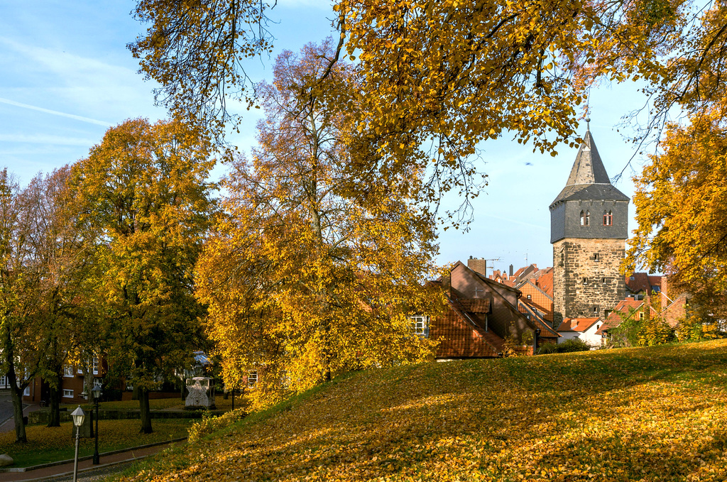 Mahnmal am Lappenberg und Kehrwiederturm