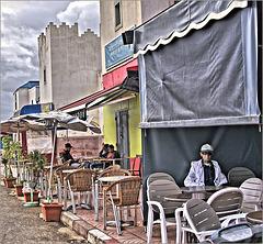 At the market hall in Sidi Ifni