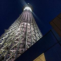Spotlight on Japan. Tokyo Sky Tree.