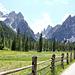 Weg zur Talschlusshütte im Fischleintal (3 notes)