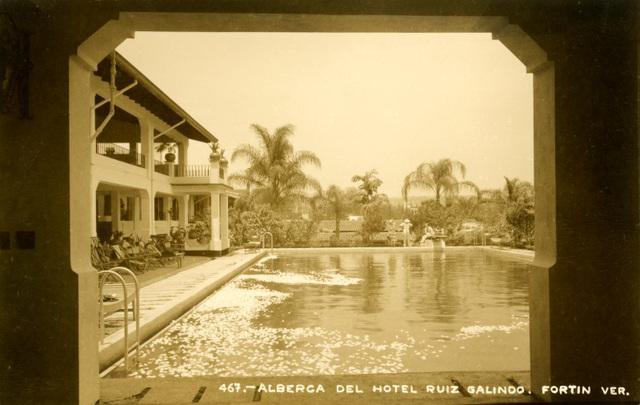 Gardenia Swimming Pool, Hotel Ruiz Galindo, Fortín, Veracruz, Mexico