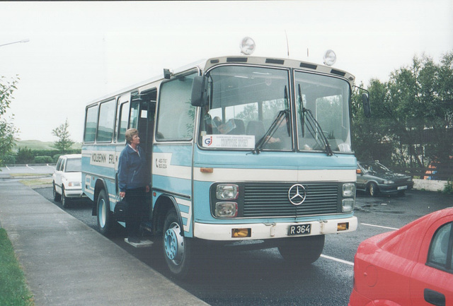 Kolbeinn Erlendsson's R 364 at Hotel Mosfell, Hella, Iceland – 24 Jul 2002 (489-08)