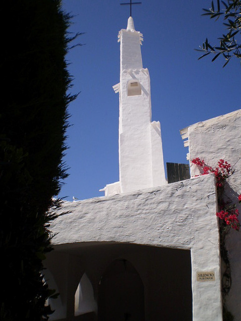 Tower of small church.