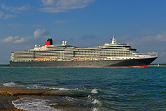 QUEEN VICTORIA sailing from Southampton
