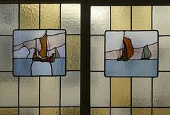Glasfenster im Henneberg-Haus (PiP)