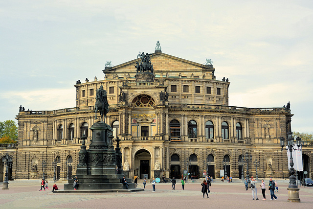Bauwerke in Dresden: Die Semperoper (5xPiP)