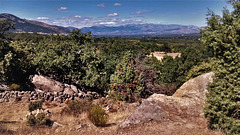 Sierra de Guadarrama from the Roman Road