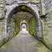 Beaumaris Castle rear entrance
