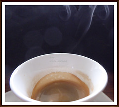 Espresso am Morgen