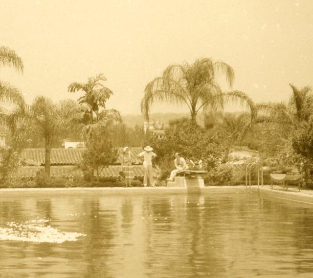 Gardenia Swimming Pool, Hotel Ruiz Galindo, Fortín, Veracruz, Mexico (Detail Right)
