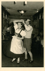 German Dancers at the Café Bauer, Garmisch