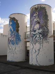 Eye catching street art.