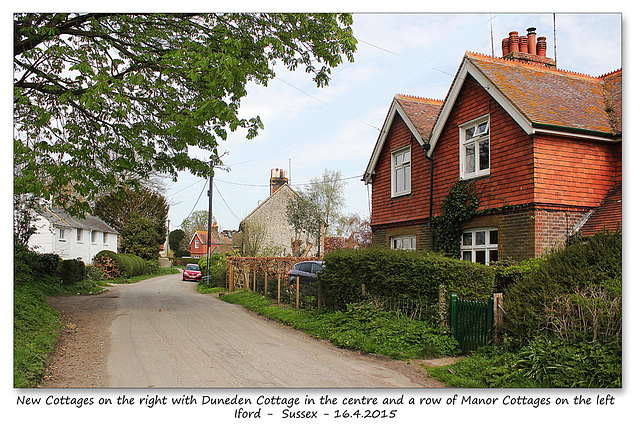 Cottages - Iford - Sussex - 16.4.2015