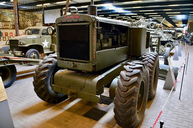 Overloon War Museum 2017 – Caterpillar Tractor Model 12