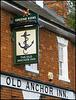 Old Anchor Inn sign
