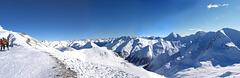 Swiss Alps Panorama (Samnaun Region)