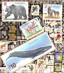stamps à la canada