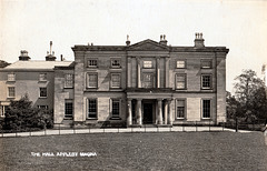 Appleby Magna Hall, Leicestershire (Demolished)
