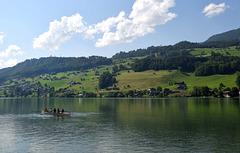 Le lac de Sarnen ...