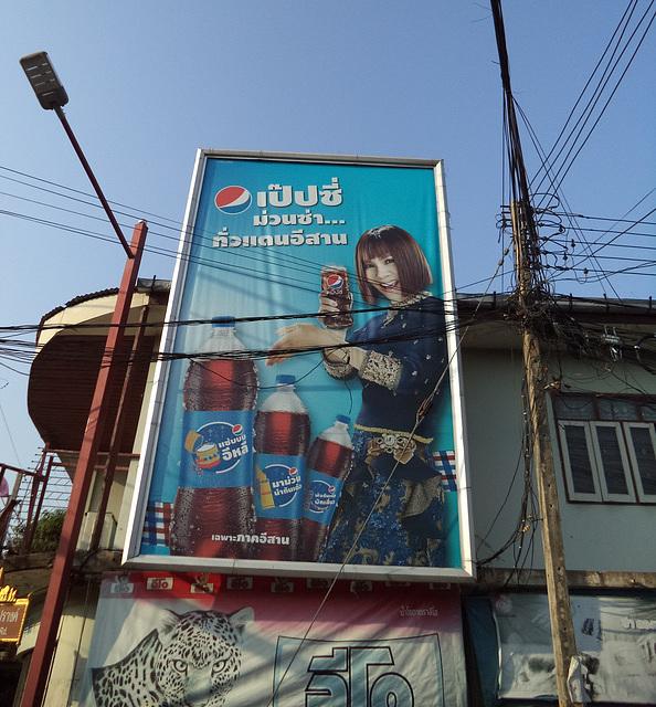 Pepsi tigré pour mon amie Annick