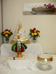 Ein Buddha in Teublitz