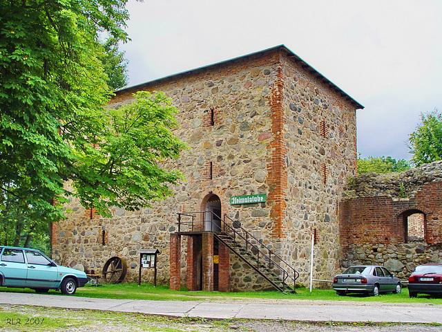 Gerswalde, Wasserburg
