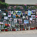 Leipzig 2019 – Shrine for a young man who died in a traffic accident