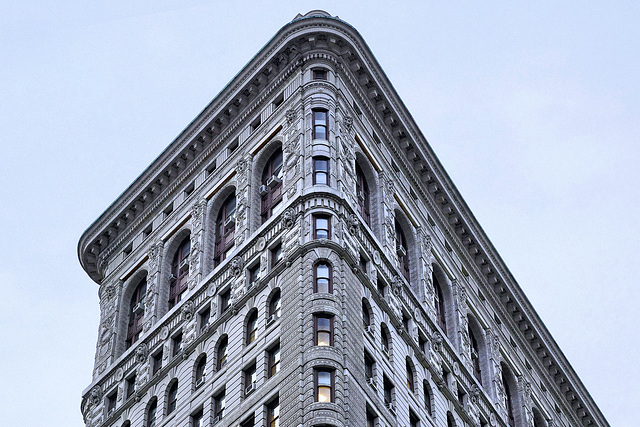 The Crown of the Flatiron – Broadway at 22nd Street, New York, New York