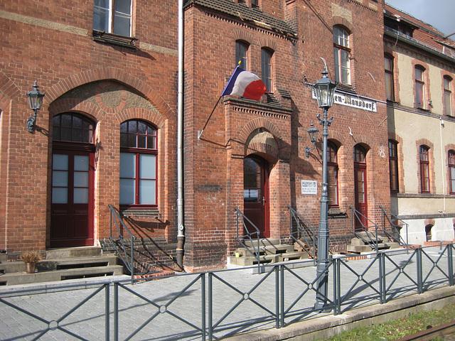 Ehemaliger Bahnhof Rehagen
